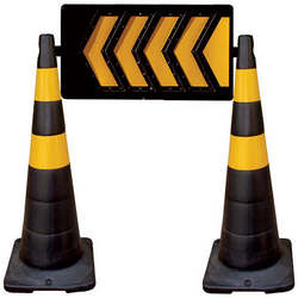 Comprar cones de segurança para sinalização viária