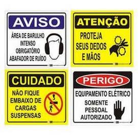 Empresa de placa de sinalização de trânsito