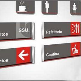 Placas de sinalização para empresas