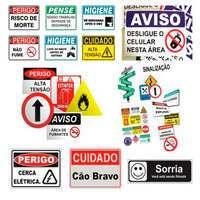 Placas de sinalização para condôminios