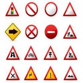 Comprar placa de sinalização de trânsito