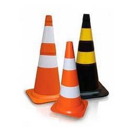 Cone para sinalização de trânsito