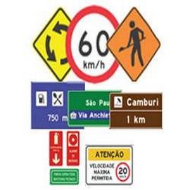 Empresas de placas de sinalização de segurança