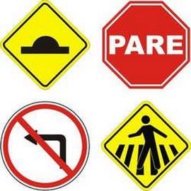 Fabricante placa de sinalização de trânsito