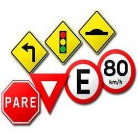Comprar placas de sinalização de trânsito preço