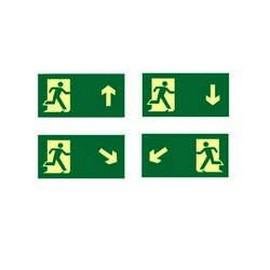 Comprar placa de sinalização de rota de fuga