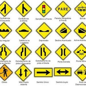 Placas de sinalização prevenção e combate