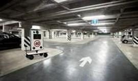 Lombada eletrônica para estacionamento