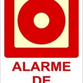 Placa botoeira de bomba de incêndio