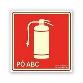 Placa de sinalização de extintor preço