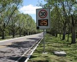 Redutor de velocidade para condomínio