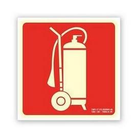 Sinalização de hidrante